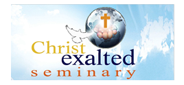 Christ Exalted Seminary Logo